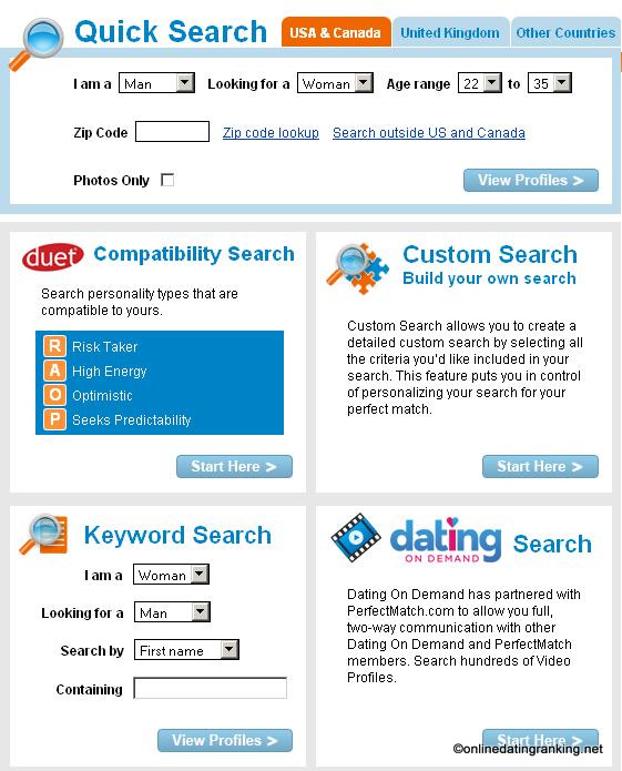 dating websites registration