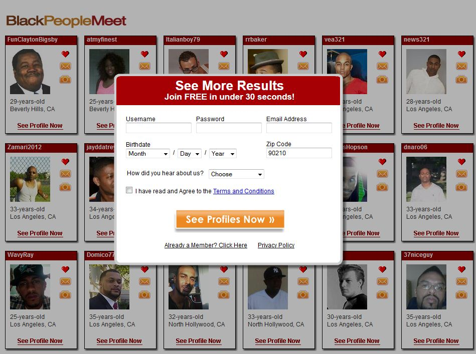 Free african american online dating sites