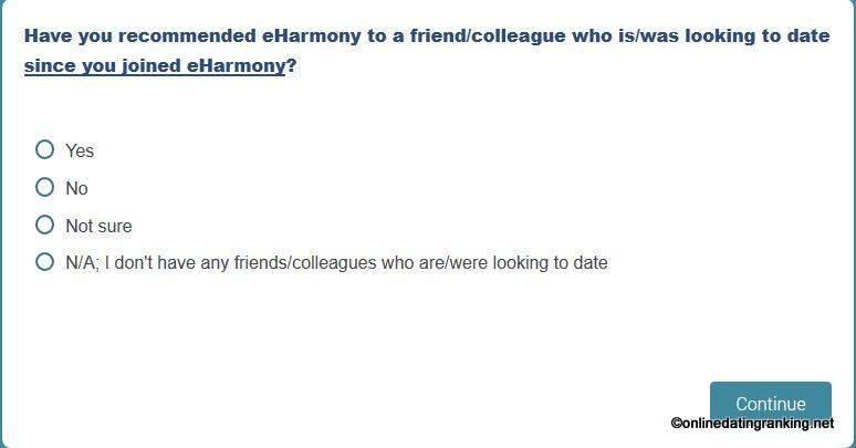 eharmony dating questionnaire relationship advice