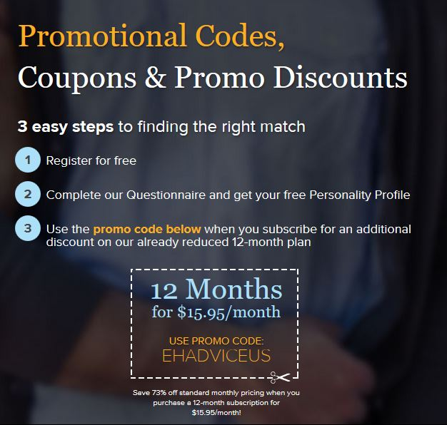 dating promotion